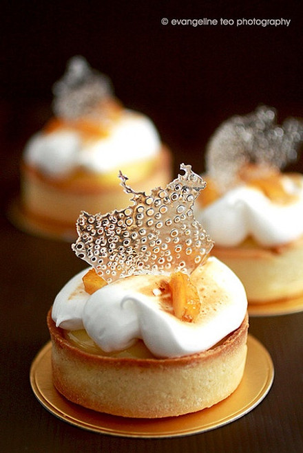 Pierre Herme's Meyer Lemon Tarts