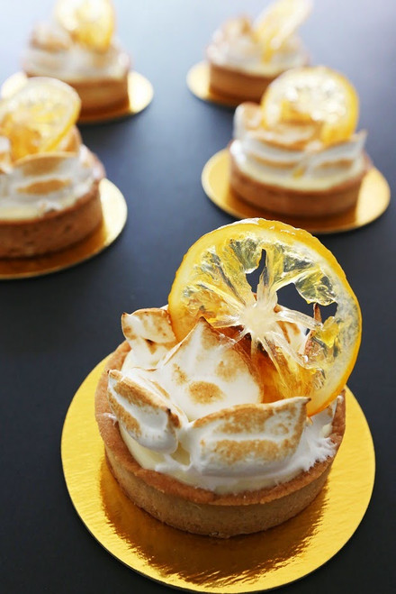 Pierre Herme's Meyer Lemon Tart - (Free Recipe below)
