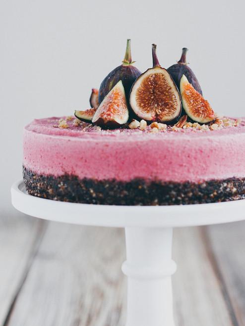 Raw Fig Cheesecake - (Free Recipe below)