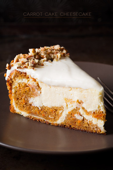Carrot Cake Cheesecake - (Free Recipe below)