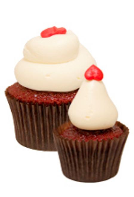 Southern Belle Red Velvet Cupcakes - One Dozen