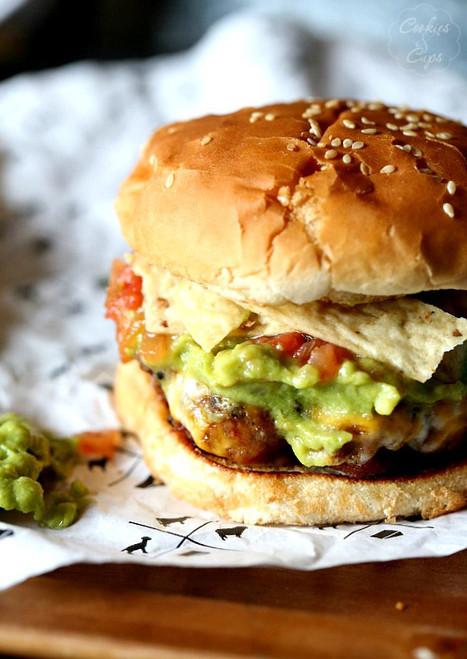 Taco Guacamole Burgers - (Free Recipe below)