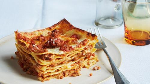 Lasagna Bolognese - (Free Recipe below)
