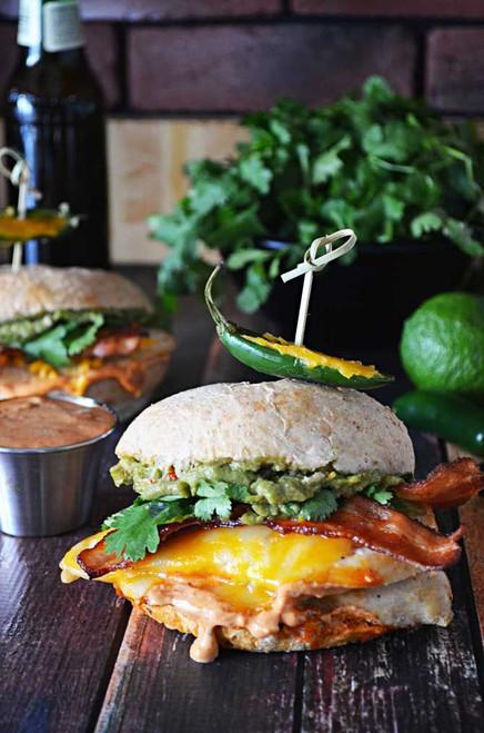 Tequila Lime Chicken Sandwich - (Free Recipe below)
