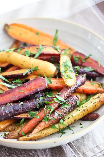 Honey Mustard Glazed Carrots - (Free Recipe below)