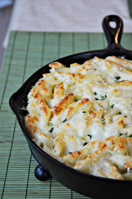 Three Cheese Mac and Cheese with Goat Cheese - (Free Recipe below)