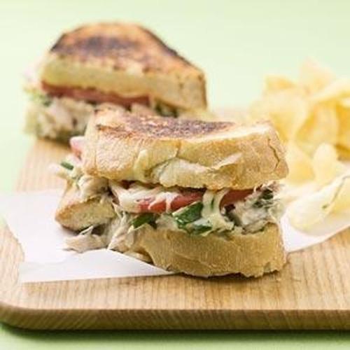 Tarragon Tuna Melt - (Free Recipe below)