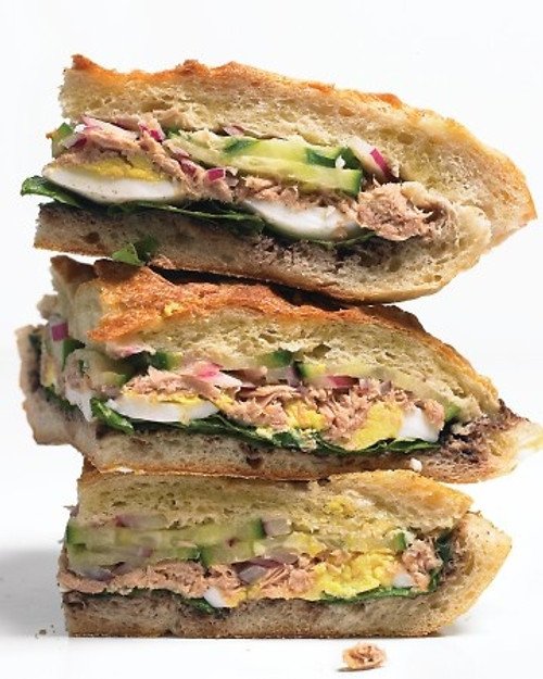 Tuna Nicoise Sandwiches - (Free Recipe below)