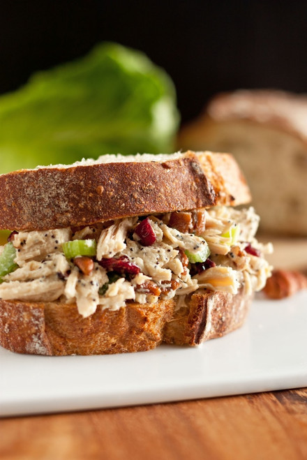 Sonoma Chicken Salad Sandwich - (Free Recipe below)