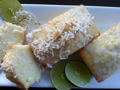 Tropical Coconut Lime Bread Mini Loaves ~ 3 loaves