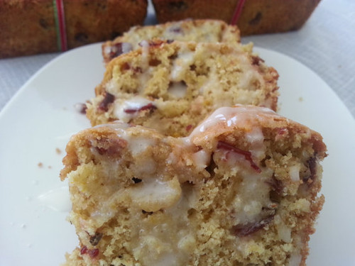 Cranberry Orange Bread Mini Loaves ~ 3 loaves