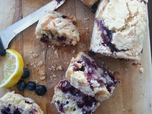 Lemon Blueberry Bread, 3 Mini Loaves