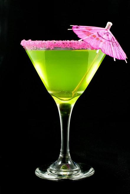 Pink Cocktail Rim Sugar - Rimming Sugar for Martinis, Sweet Margaritas
