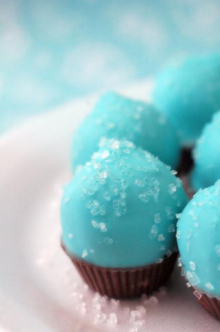 Tiffany Blue Mini Cupcakes - One Dozen, Many Flavors
