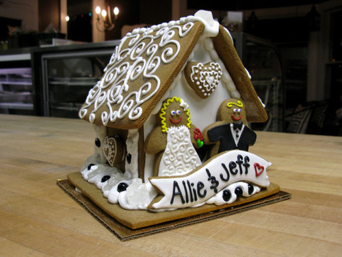 Wedding Gingerbread House - Custom Orders Accepted