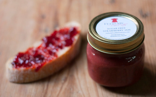 Sugar Free Strawberry Jam / Jelly