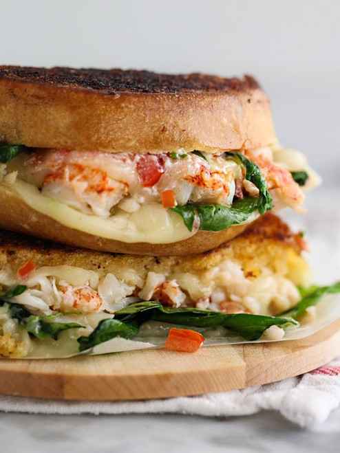 Lobster Grilled Cheese Sandwich - (Free Recipe below)