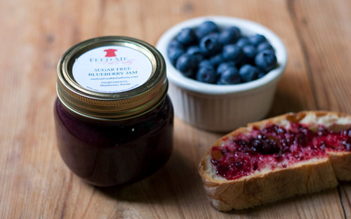 Sugar Free Blueberry Jam / Jelly