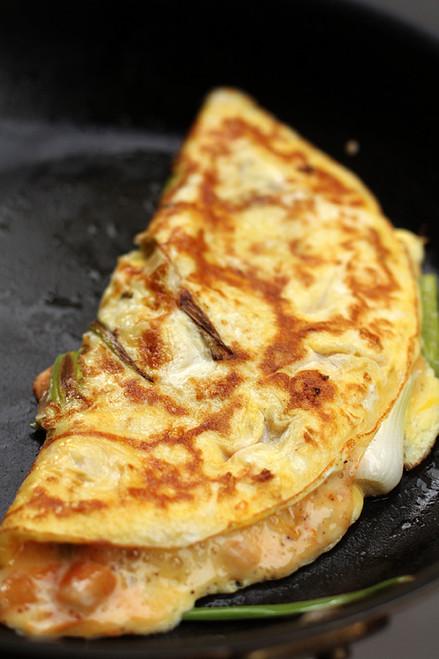 Kimchi Omelet - (Free Recipe below)