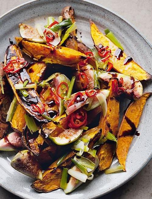 Roasted Sweet Potatoes & Fresh Figs - (Free Recipe below)