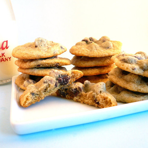Orange Chocolate Chip Cookies - One Dozen