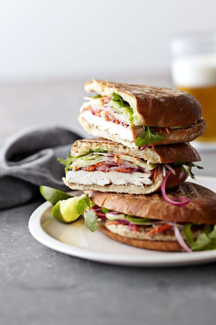 Vietnamese Grilled Chicken Sandwich - (Free Recipe below)