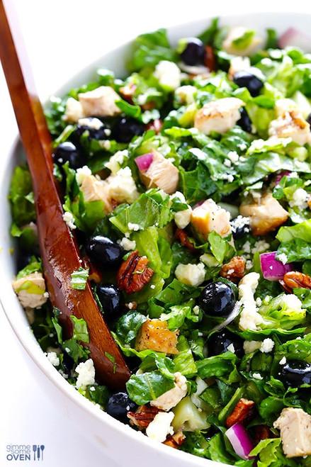 Blueberry Chopped Chicken Salad - (Free Recipe below)