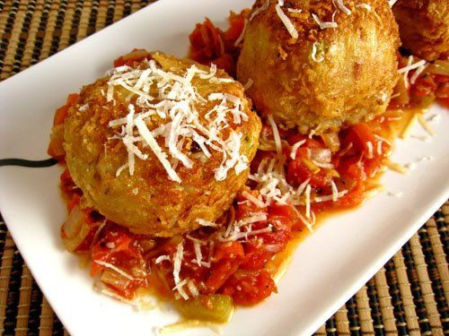 Arancini di Riso (Rice Balls) - (Free Recipe below)