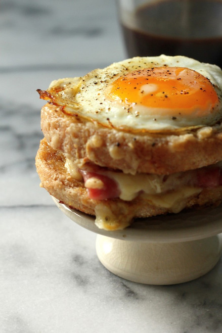 Croque Madame McMuffins - (Free Recipe below)