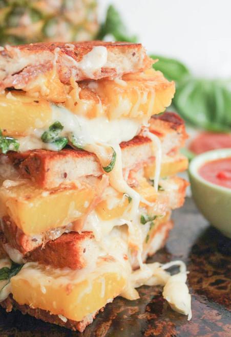 The Ultimate Hawaiian Grilled Cheese - (Free Recipe below)