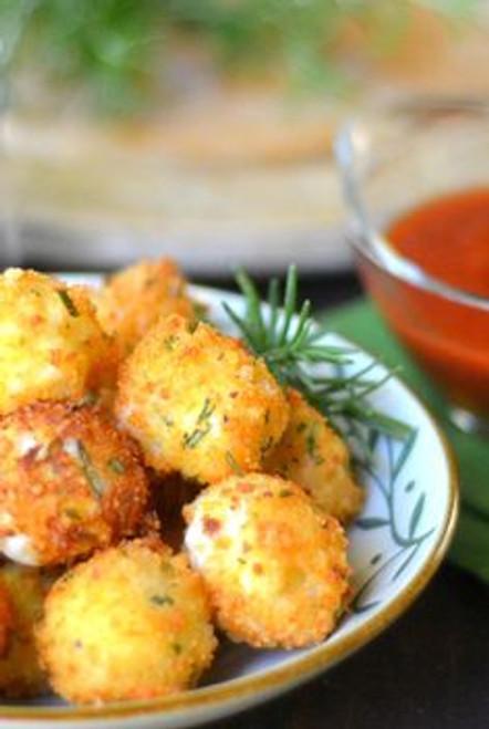 Fried Rosemary Mozzarella Balls - (Free Recipe below)