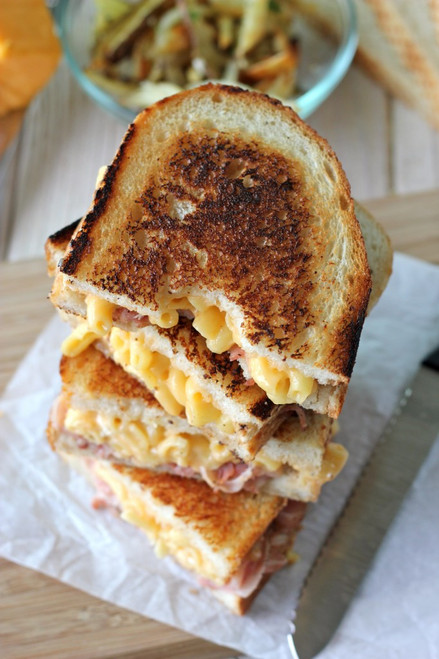 Pancetta Mac and Cheese Panini - (Free Recipe below)