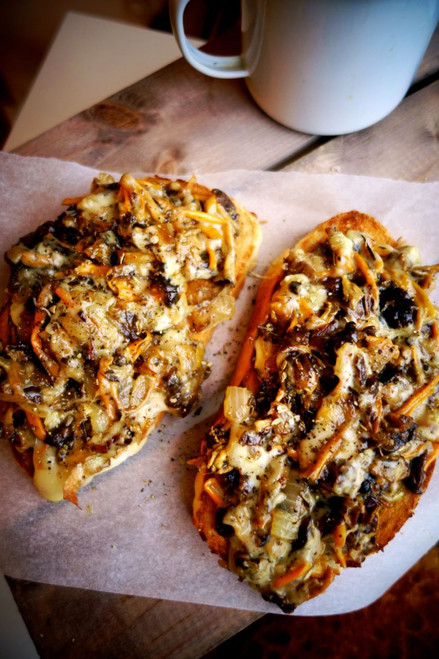 Wild Mushroom Melt - (Free Recipe below)