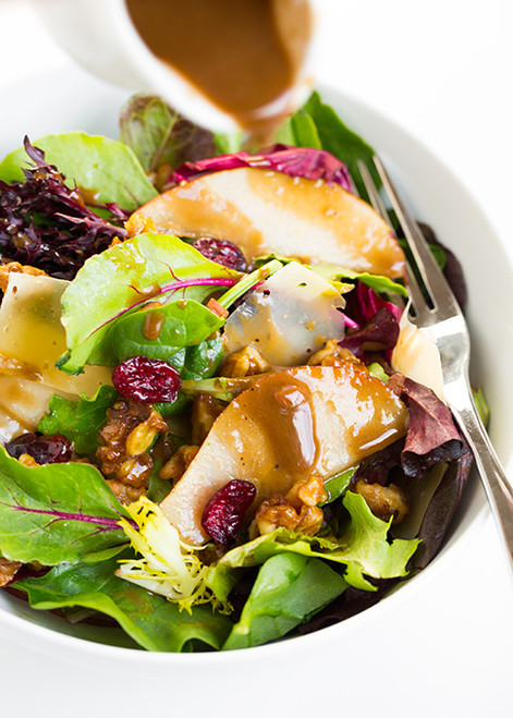 Autumn Pear Salad - (Free Recipe below)