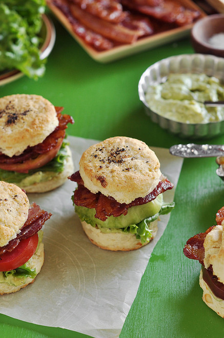 BLT Biscuit Sliders - (Free Recipe below)