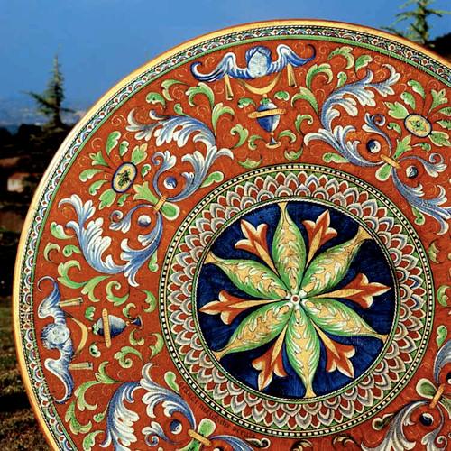Antico Deruta Italian Table - Custom designs, sizes available