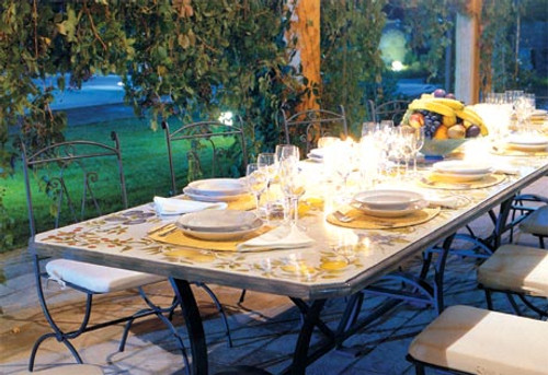 Autunno 10 - 12 Person Table - many sizes, shapes available