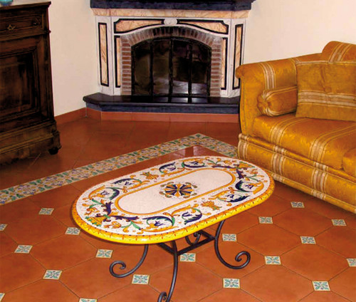 Deruta Coffee Table - many sizes, designs