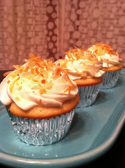 Coconut Dream Cupcakes - One Dozen