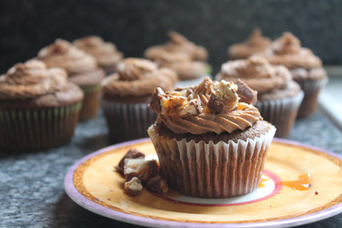 Snickers Cupcake - One Dozen
