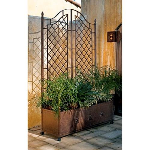 Mediterranean Ornate Trellis Planter