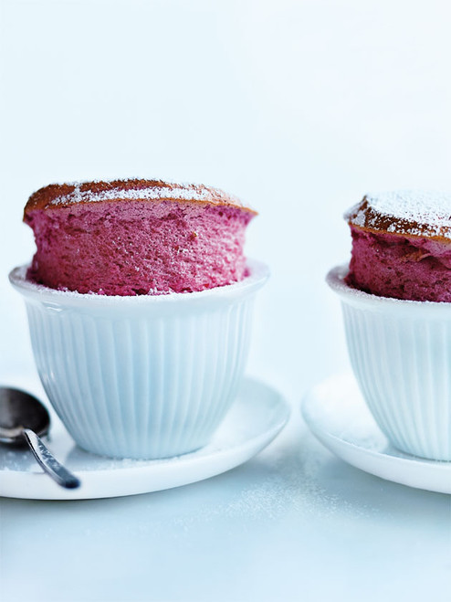 Raspberry Soufflés - (Free Recipe below)
