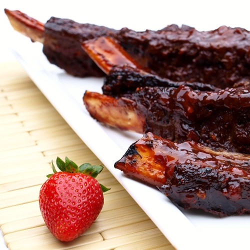Strawberry Chipotle BBQ Ribs - (Free Recipe below)