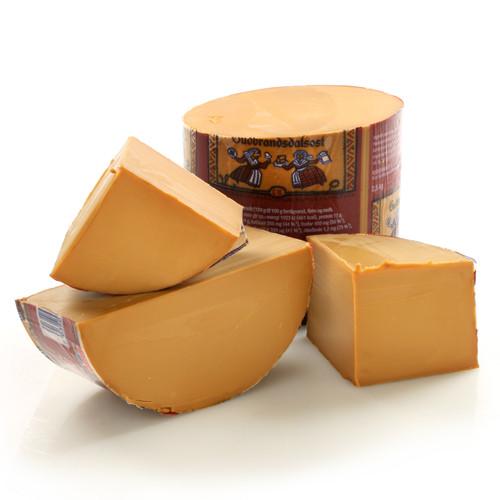 Gjetost Cheese - 10 lbs - (Norwegian Brown Cheese)