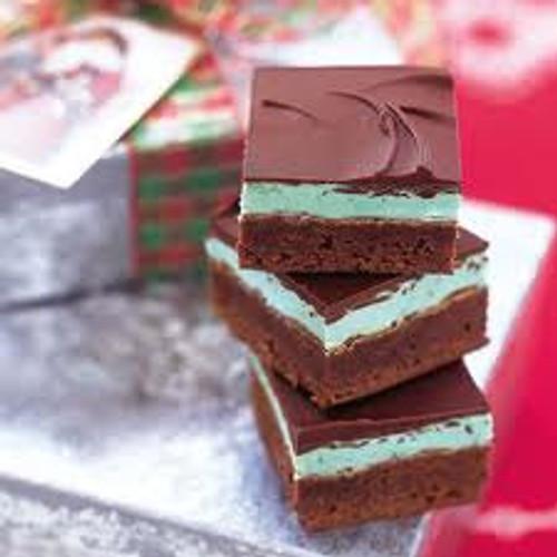 Baily's Irish Mint Brownies - One Dozen