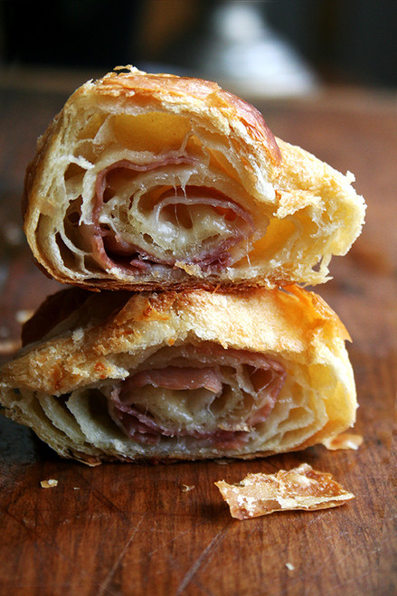 Prosciutto & Gruyère Croissants - (Free Recipe below)