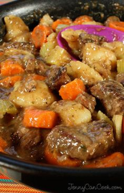 Traditional Beef Stew - (Free Recipe below)