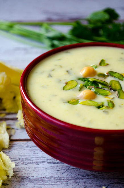 Creamy Zucchini Soup - (Free Recipe below)