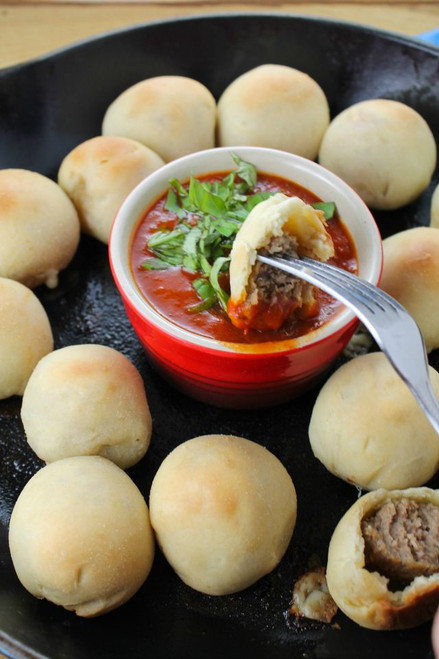 Meatball Poppers - (Free Recipe below)