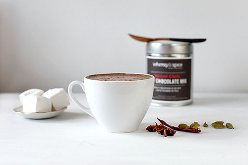 Spiced Chile Hot Chocolate Mix with Cardamom and Star Anise